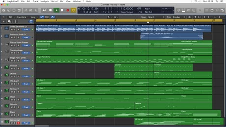 BABIES FIRST STEP - Logic Pro X Template Download (Happy Children's Music) JON BROOKS