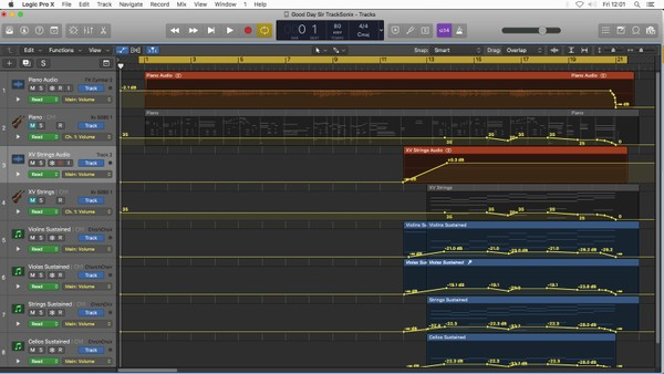 Good Day Sir - Logic Pro X Template Download (Classical Piano Music) Jon Brooks