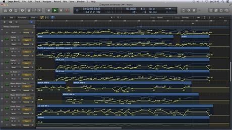 BEYOND - Logic Pro X Template Download (Jon Brooks) Dramatic Orchestral Film Music
