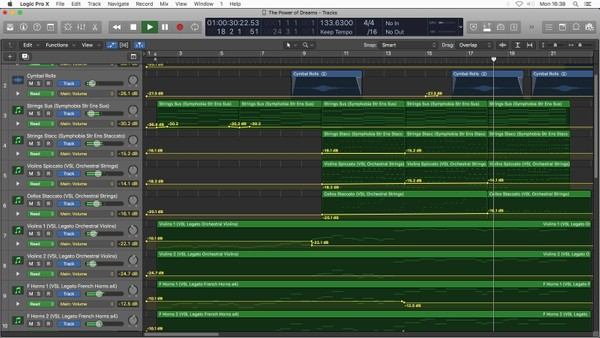 The Power of Dreams 🎵 Logic Pro X Template Download (Jon Brooks)