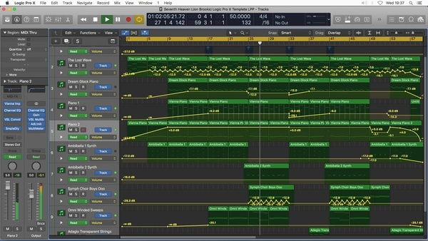 SEVENTH HEAVEN - Logic Pro X Project Download Template (Jon Brooks Composer)