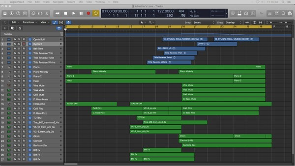 A MOTHER'S LOVE | Logic Pro X Template (Jon Brooks Music) Advertising Jingle