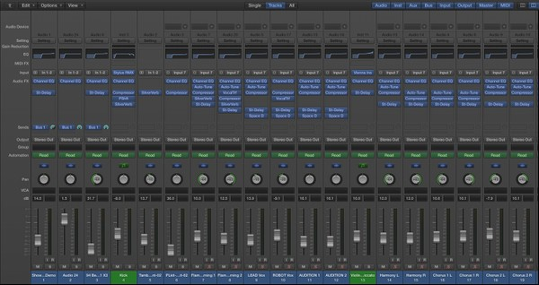 SHOWDOWN - Logic Pro Template Download LPX (Jon Brooks Composer)