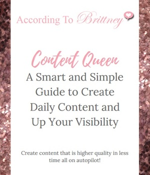 10 Day Content Creation Challenge VIP Upgrade