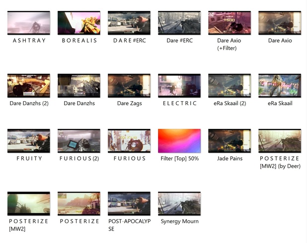 Color Correction Pack #1 (14 CC)