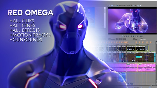 RED OMEGA (Project File + Resources)