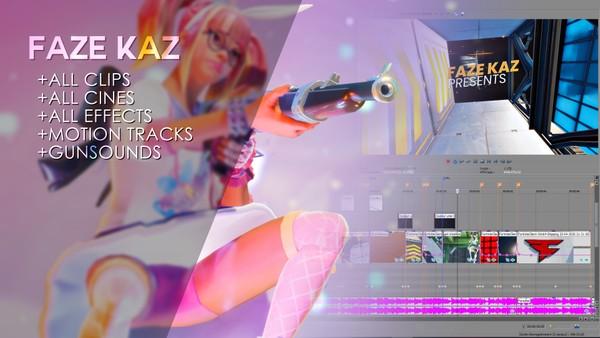 FaZe Kaz 4.0 (Project File + Resources)
