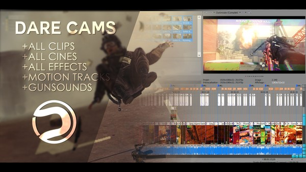 Dare Cams 119 (Project File + Resources)