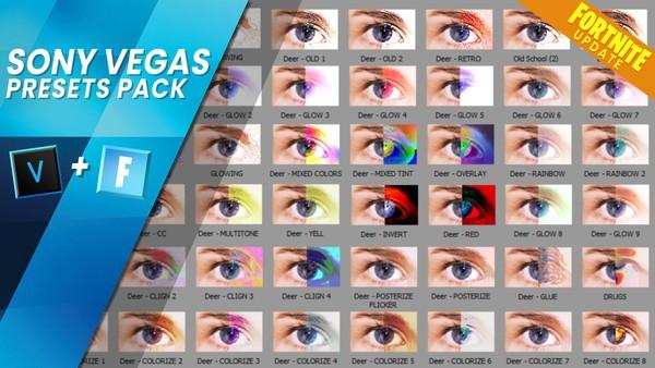Sony Vegas Presets Pack (500 vegas effects)