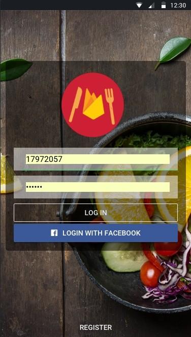 Restaufire Ionic with Admin Dashboard Angular