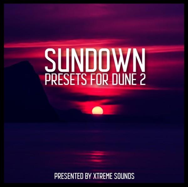 SUNDOWN presets for DUNE 2 vst