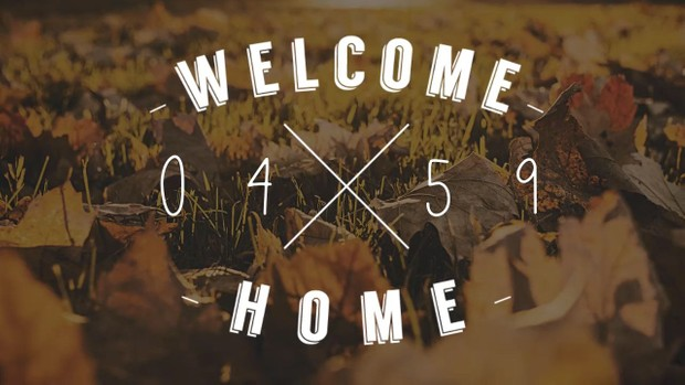 'Hipster' Welcome Home 5 Minute Countdown