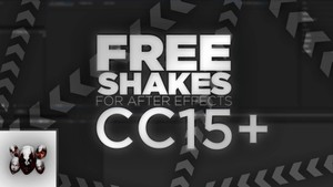 5 FREE Shakes (For After Effects CC 2015+)