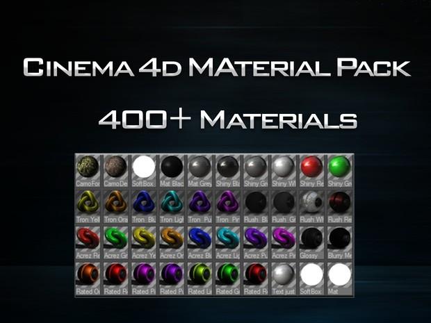 Cinema 4D Materials Pack
