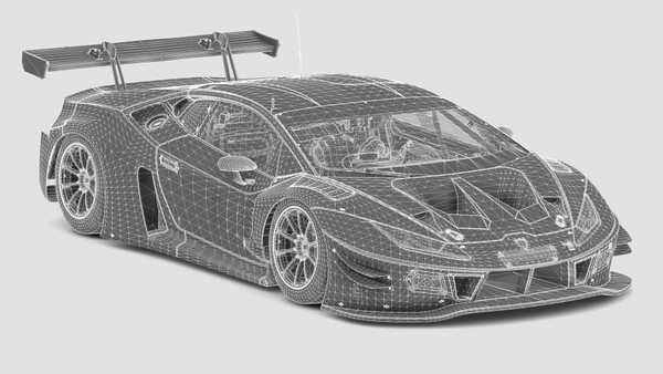 Livery Templates - GT-M Lanzo V10 - Assetto Corsa