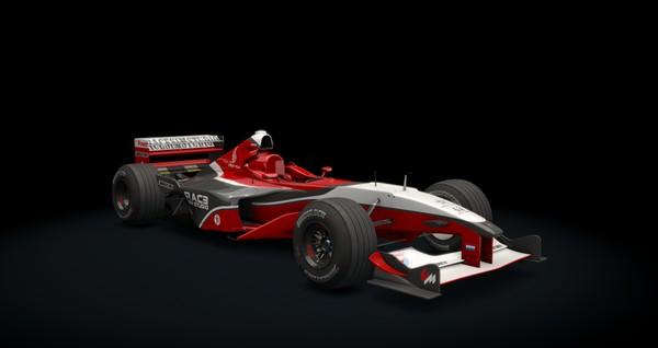 Formula RSS 2000 V10 for Assetto Corsa
