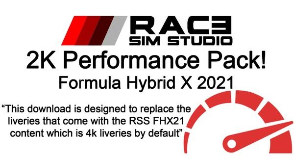 2K Performance Pack - Formula Hybrid X - Assetto Corsa