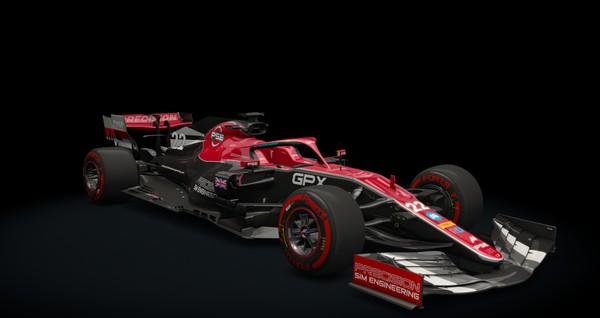 Formula Hybrid 2019 for Assetto Corsa