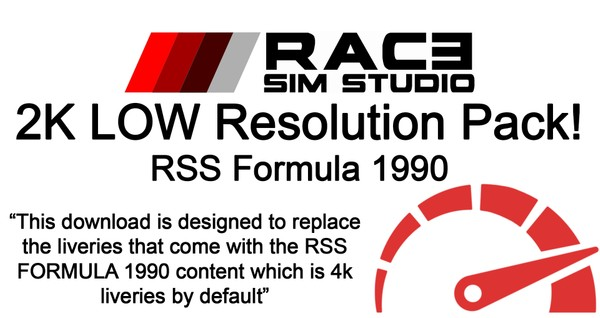 2K Performance Pack - Formula 1990 V12 - Assetto Corsa