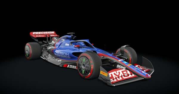 Formula Hybrid X 2022 for Assetto Corsa