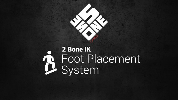 Unreal Engine 4 - 2 Bone IK Foot Placement System