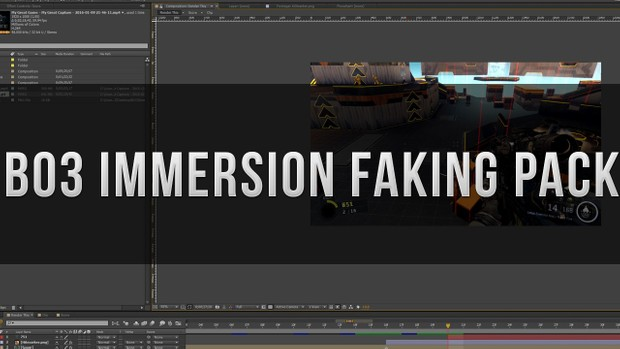 Bo3 Combat Immersion Faking Pack