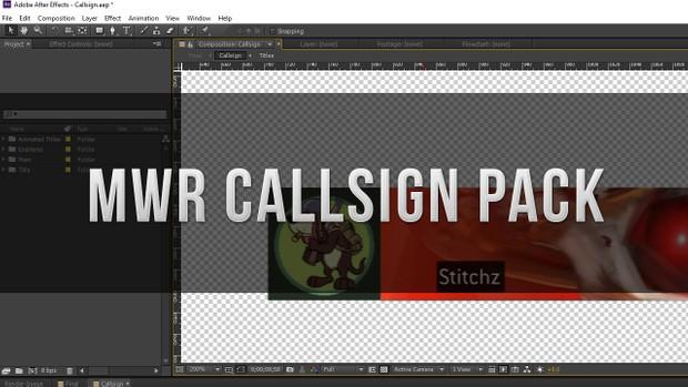 MWR Callsign/Playercard Pack