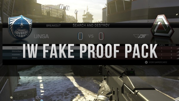 IW Fake Proof Pack