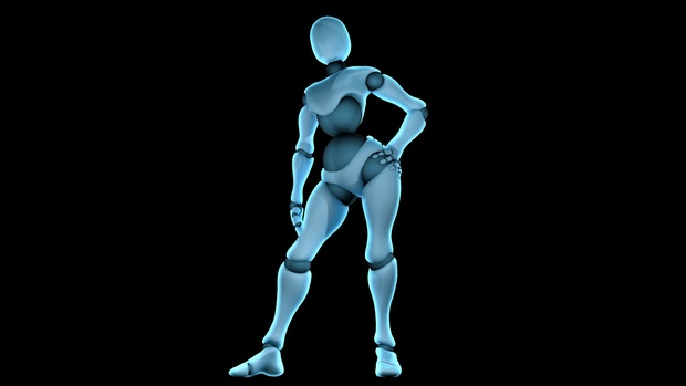 Human Rig v1 for Cinema 4D - HertzAnimations
