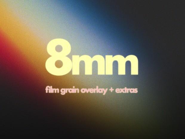 Super 8mm Film Grain Overlay - Austin Newman