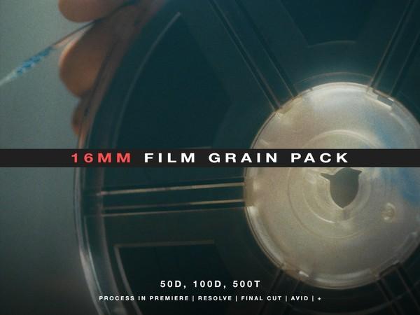 16mm Film Grain Pack