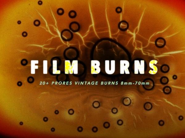 Film Burns Pack (Super8, 16mm, 35mm +)