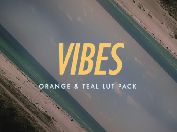 Orange & Teal LUT Pack