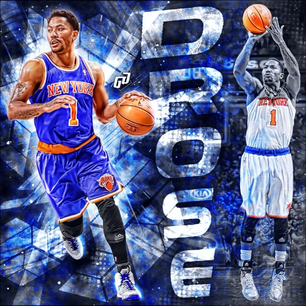 newest 7fb51 d3db2 Derrick Rose Knicks Jersey swap PSD