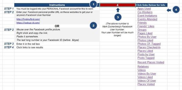 Facebook Investigative Search