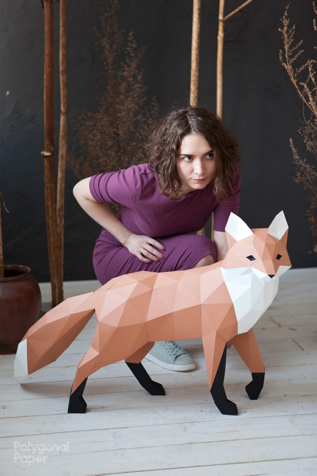 2D Fox Template