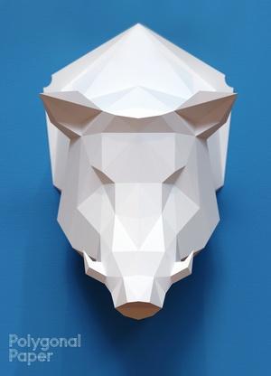 2D Boar Head Template RUS/ENG/ESP/FRA