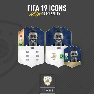FIFA 19 ICON CARDS