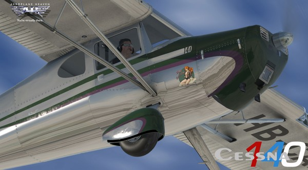 Aeroplaneheaven Cessna 140 - Bundle ( All simulators )