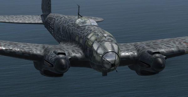 Aeroplaneheaven Heinkel He-111 P2 - P3d V4.4+ ( PBR )