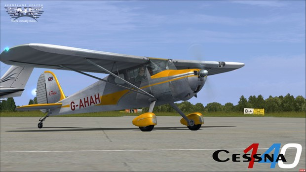Aeroplaneheaven Cessna 140 - Bundle ( All simulators )