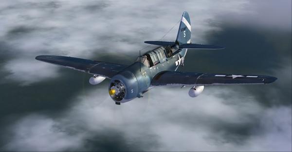 Aeroplaneheaven Curtiss SB2C 'Helldiver'