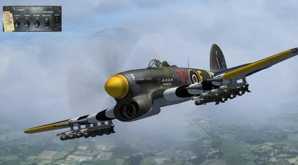 Aeroplaneheaven Hawker Typhoon Mk1B