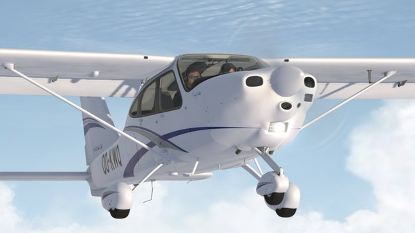 Aeroplaneheaven Tecnam P2010 (P3D)