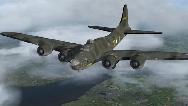 Aeroplaneheaven B17 Flying Fortress