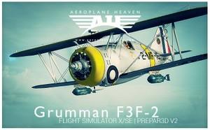 Aeroplaneheaven Grumman F3f-2 Add-on