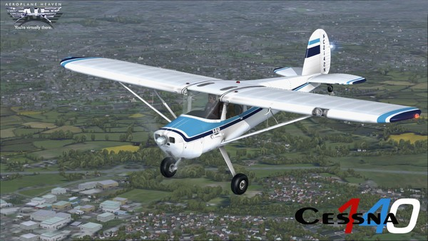 Aeroplaneheaven Cessna 140 - P3DV4.4+ ( PBR )