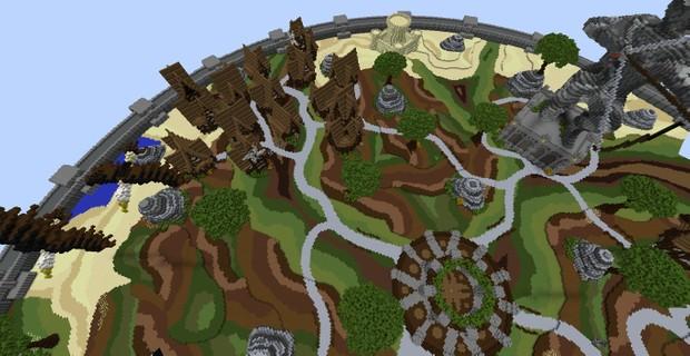 [Minecraft] KitPVP // FFA Map