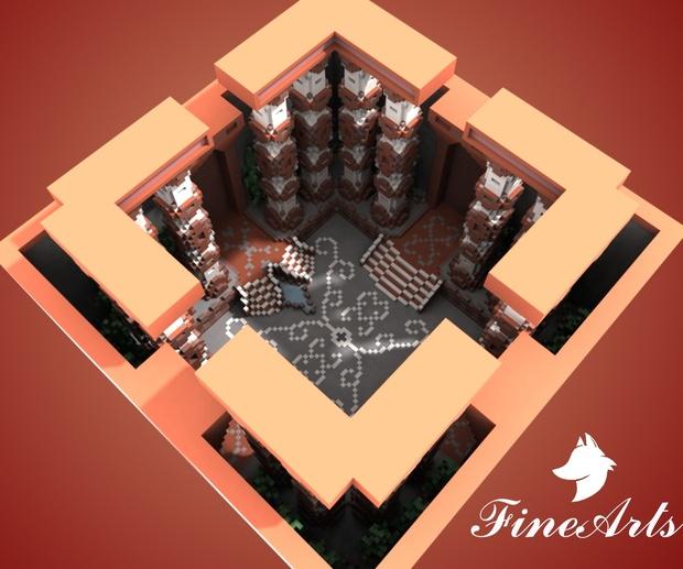 [Minecraft] Roman Little Lobby
