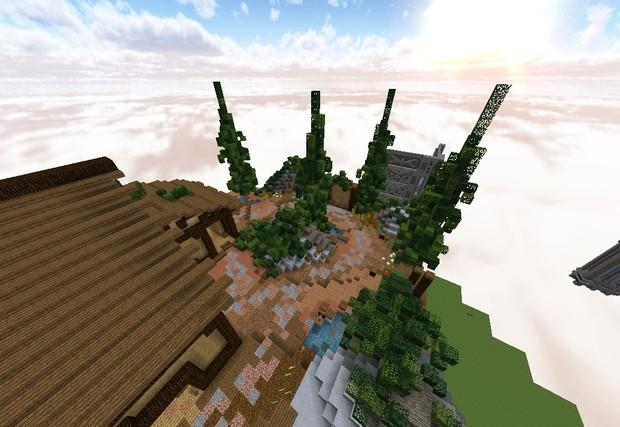 [Minecraft] Practice/SkyWars HUB